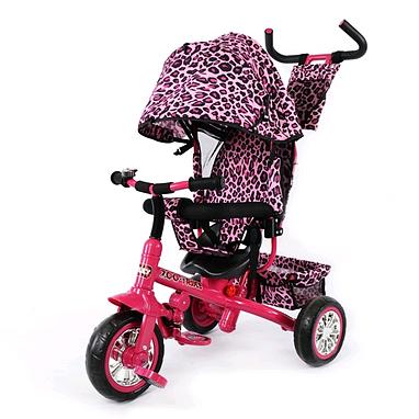 Велосипед детский трехколесный Baby Tilly Blue Zoo-Trike BT-CT-0005 Crimson