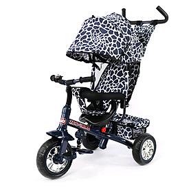 Фото 1 к товару Велосипед детский трехколесный Baby Tilly Blue Zoo-Trike BT-CT-0005 Dark Blue
