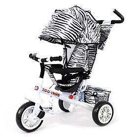 Велосипед детский трехколесный Baby Tilly Blue Zoo-Trike BT-CT-0005 White