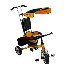 Фото 1 к товару Велосипед детский трехколесный Baby Tilly Combi Trike BT-CT-0001 Gold