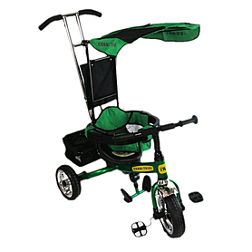 Фото 1 к товару Велосипед детский трехколесный Baby Tilly Combi Trike BT-CT-0001 Green