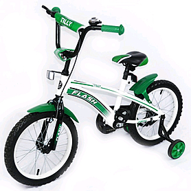 """Велосипед детский Baby Tilly Flash 16"""" Green"""