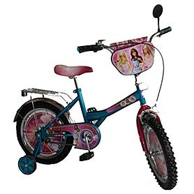 """Велосипед детский Baby Tilly Барби 16"""" BT-CB-0021 голубой"""
