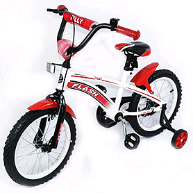 "Велосипед детский Baby Tilly Flash 16"" Red"