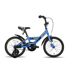 Велосипед детский Pride Flash 16'' 2015 сине-черный глянцевый