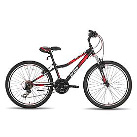 """Велосипед детский Pride Brave  24"""" 2015 черно-красный матовый"""