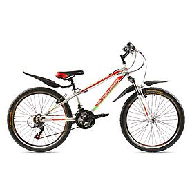 """Велосипед горный подростковый Premier Pirate24 Disc 24"""" RS35 белый с красным"""