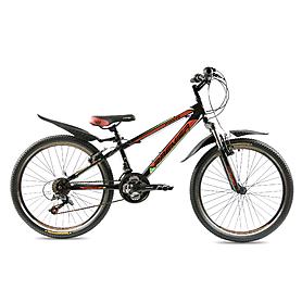 """Велосипед горный подростковый Premier Pirate24 Disc 24"""" RS35 черный с красным"""