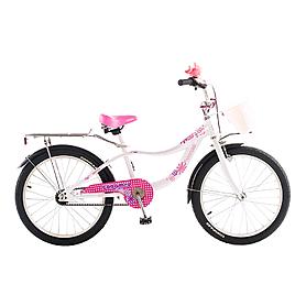 """Велосипед детский Optima Caramel 20"""" белый"""