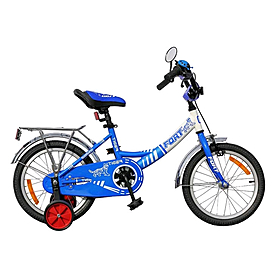 "Велосипед детский Fort Tiger 16"" желтый"