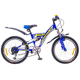 """Велосипед подростковый Formula Kolt 20"""" 2015 синий рама - 13"""""""