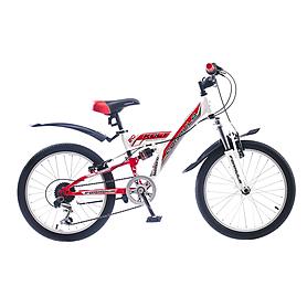 """Велосипед подротсковый Formula Kolt 20"""" 2015 года красно-белый рама - 13"""""""