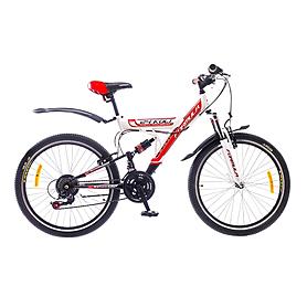 """Велосипед подростковый Formula Kolt 24"""" 2015 бело-красный рама - 16"""""""