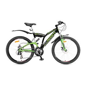 Фото 1 к товару Велосипед горный Avanti Montero 26'' 2015 черно-зеленый рама - 18,5