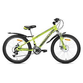 "Велосипед горный подростковый Avanti Dakar-24 Alu V-Brake 24"" 2015 зеленый, рама - 12"""