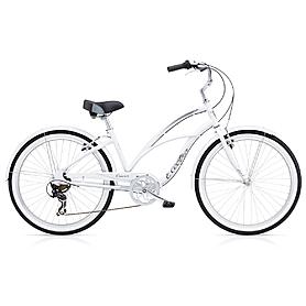 """Велосипед городской Electra Cruiser Lux 7i  26"""" Ladies white"""