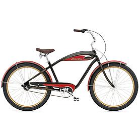 """Велосипед городской Electra Mulholland 3i 26"""" black/red"""
