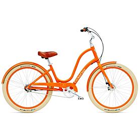 """Велосипед городской Electra Townie Balloon 3i 26"""" Ladies' Tangerine"""