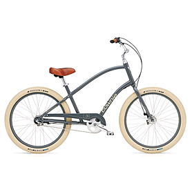 "Велосипед городской Electra Townie Balloon 3i 26"" Men's slate"