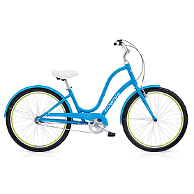 "Велосипед городской Electra Townie Original 3i Ladies' 26"" Caribbean Blue"