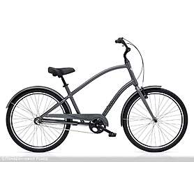 "Велосипед городской Electra Townie Original 3i Men's 26"" Satin Graphite"