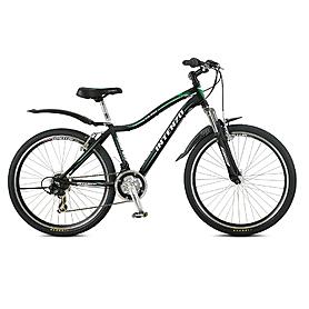 """Велосипед горный Intenzo Solaris Lady 26"""" 2014 черный матовый рама - 16"""""""