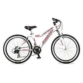 """Велосипед подростковый горный Intenzo Nitro 24"""" 2015 белый рама - 14"""""""