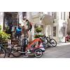 Велоколяска детcкая Thule Chariot Captain2 + набор колес, оранжевая - фото 6