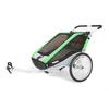 Велоколяска детская Thule Chariot Chetah2 + набор колес, зеленая - фото 1