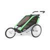 Велоколяска детская Thule Chariot Chetah2 + набор колес, зеленая - фото 3