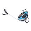 Велоколяска детская Thule Chariot Chinook1 + крепление к велосипеду, синяя - фото 3