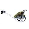 Велоколяская детская Thule Chariot Cougar1 + набор колес, зеленая - фото 4