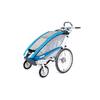 Велоколяска детская Thule Chariot CX1 + набор колес, голубая - фото 1