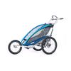 Велоколяска детская Thule Chariot CX1 + набор колес, голубая - фото 2