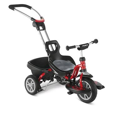 Велосипед детский трехколесный Puky Cat S2 красный