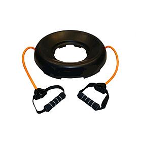 Подставка для фитболов (мячей для фитнеса) c эспандерами FI-0850(T)