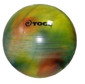 Мяч для фитнеса (фитбол) 55 см Togu разноцветный