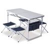 Стол раскладной + 4 стула Pinguin Set PNG 621006 - фото 1