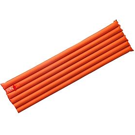 Коврик надувной Pinguin 6-Tube Air оранжевый (183х50х7 см)