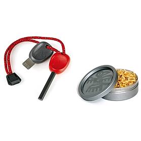 Набор для розжига Light My Fire FS Scout 2.0 красное + TinderDust Combo