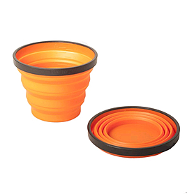 Фото 1 к товару Кружка складная Sea to Summit X-Mug оранжевая