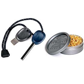 Набор для розжига Light My Fire FS Scout 2.0 темно-синее + TinderDust Combo