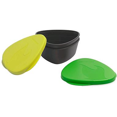 Набор посуды Light My Fire SnapBox 2-pack лайм/зеленый
