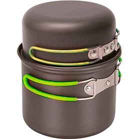 Фото 2 к товару Набор посуды из анодированного алюминия Pinguin Double Alu