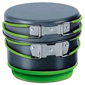 Фото 2 к товару Набор посуды из анодированного алюминия Pinguin Quadri-X