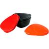Набор посуды Light My Fire SnapBox 2-pack красный/оранжевый - фото 1