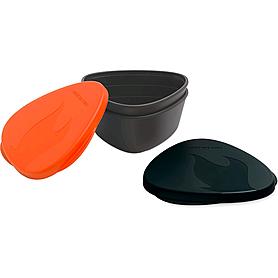 Набор посуды Light My Fire SnapBox 2-pack оранжевый/черный