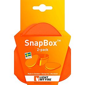 Фото 4 к товару Набор посуды Light My Fire SnapBox 2-pack оранжевый/черный