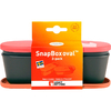 Набор посуды Light My Fire SnapBox Oval 2-pack красный/оранжевый - фото 2
