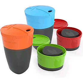 Фото 2 к товару Набор стаканов Light My Fire Pack-up-Cup 4 pack Fourelements